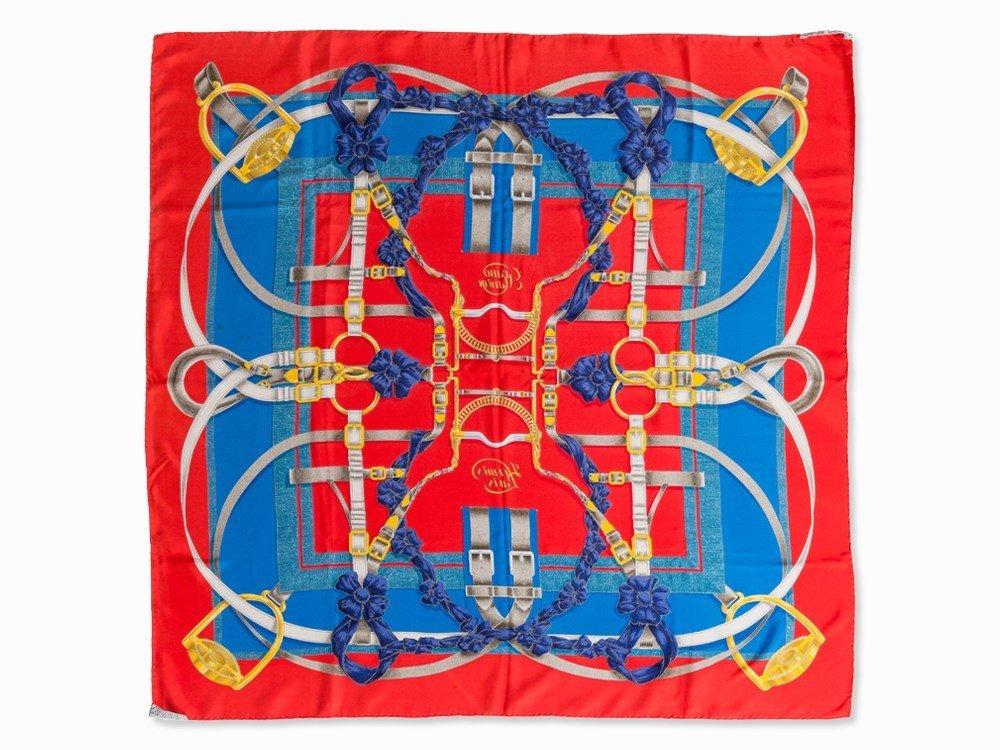 Hermès Carré 'Grand Manège', 87 x 87 cm - 8