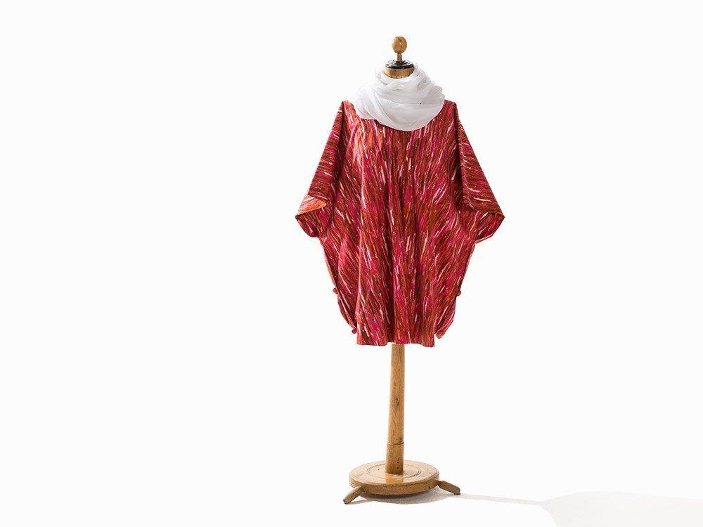 Madame Grès, Tunic with Silk Chiffon Sash, France,