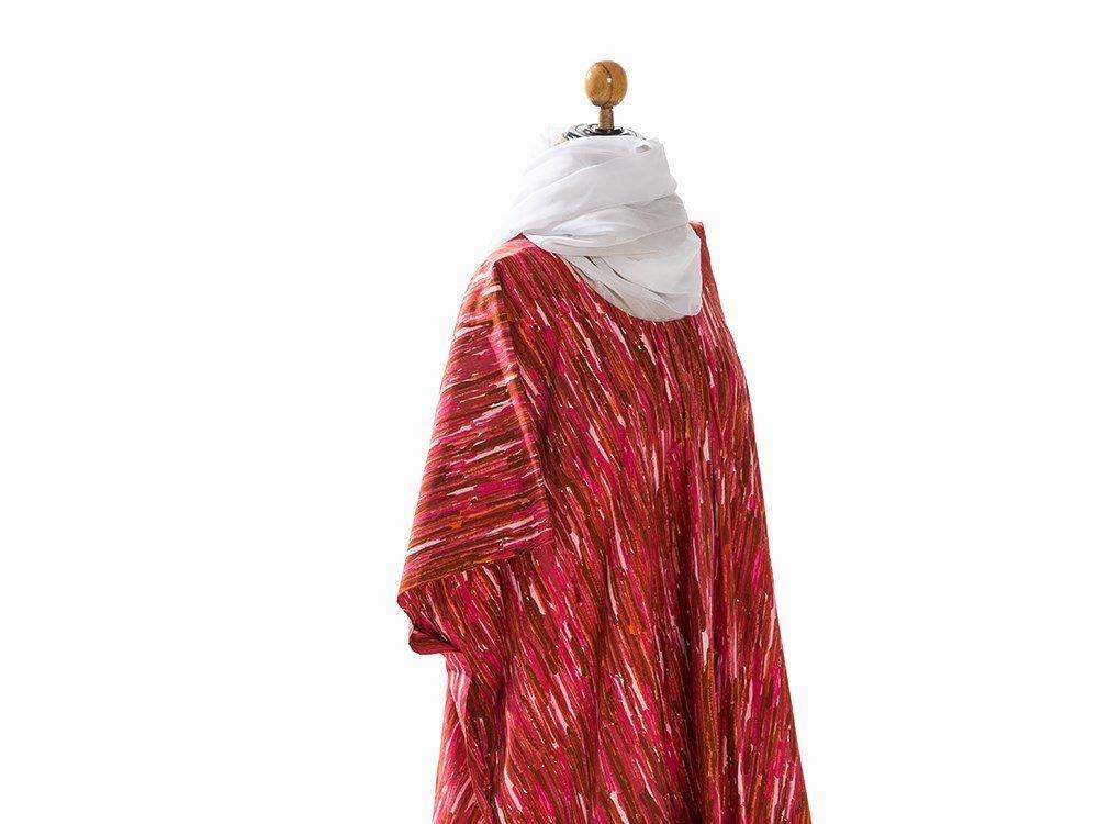 Madame Grès, Tunic with Silk Chiffon Sash, France, - 5