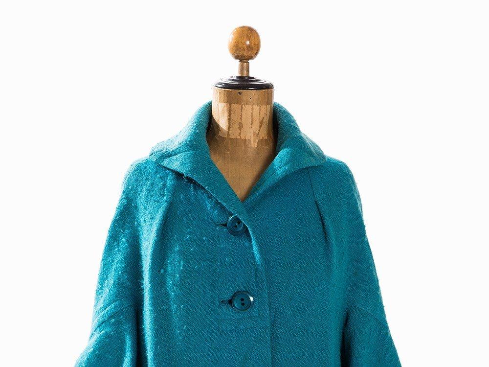 Madame Grès, Trapeze-Shaped Coat, France, Mid-20th C. - 3