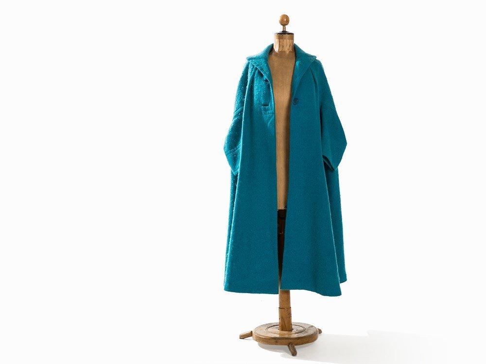 Madame Grès, Trapeze-Shaped Coat, France, Mid-20th C. - 5