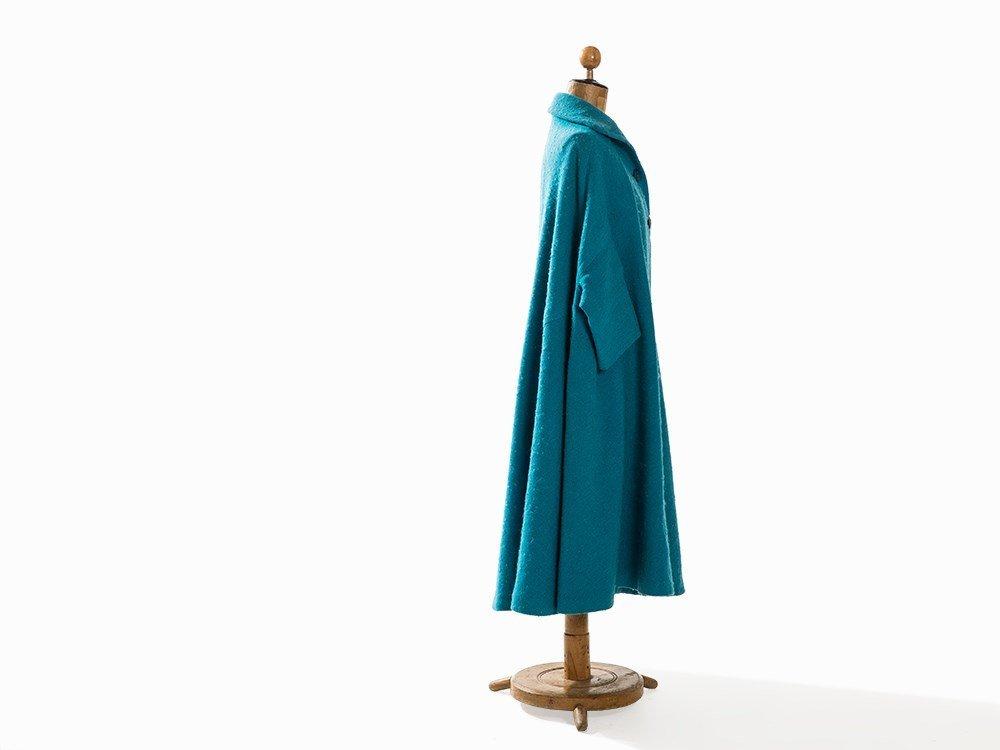 Madame Grès, Trapeze-Shaped Coat, France, Mid-20th C. - 6