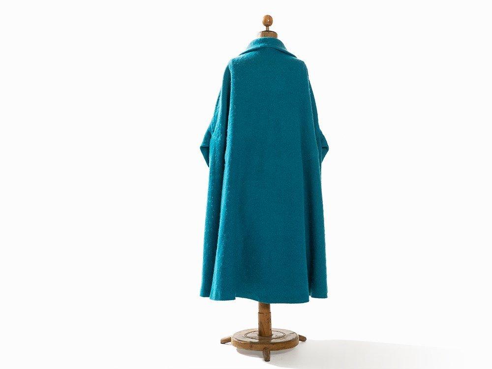 Madame Grès, Trapeze-Shaped Coat, France, Mid-20th C. - 8