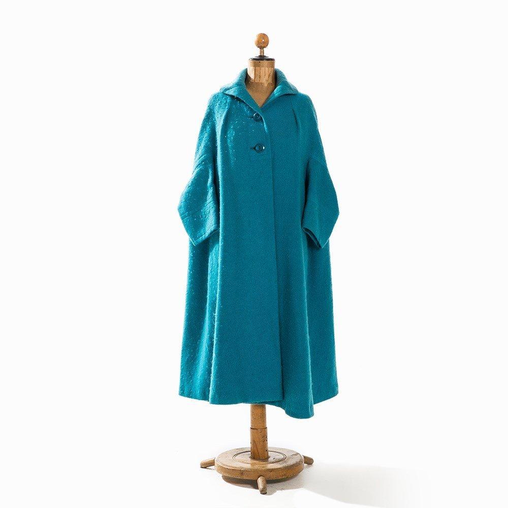 Madame Grès, Trapeze-Shaped Coat, France, Mid-20th C. - 9