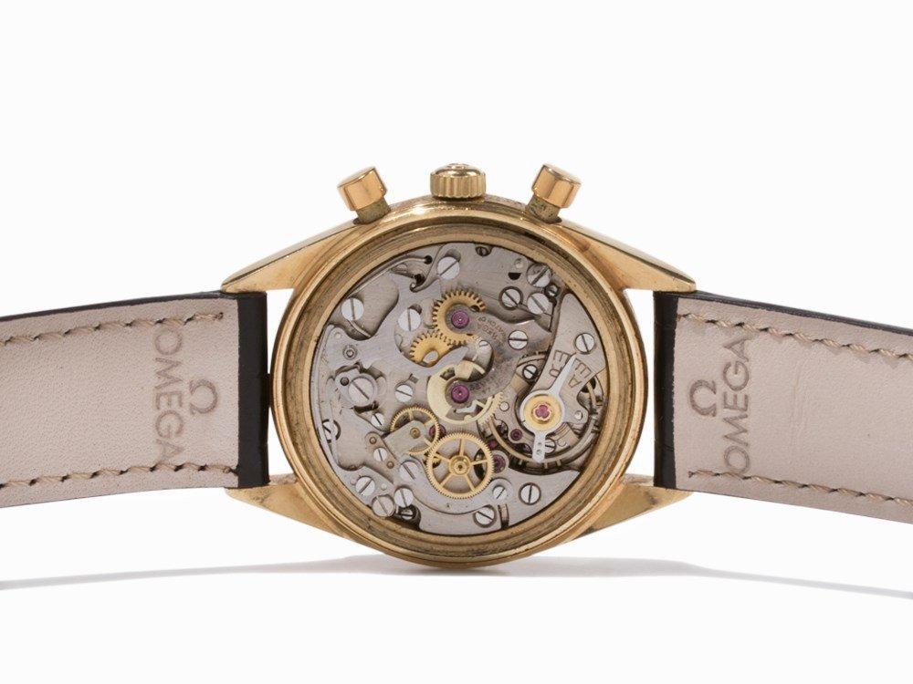 Omega Gold Chronograph, Switzerland, c. 1955 - 3