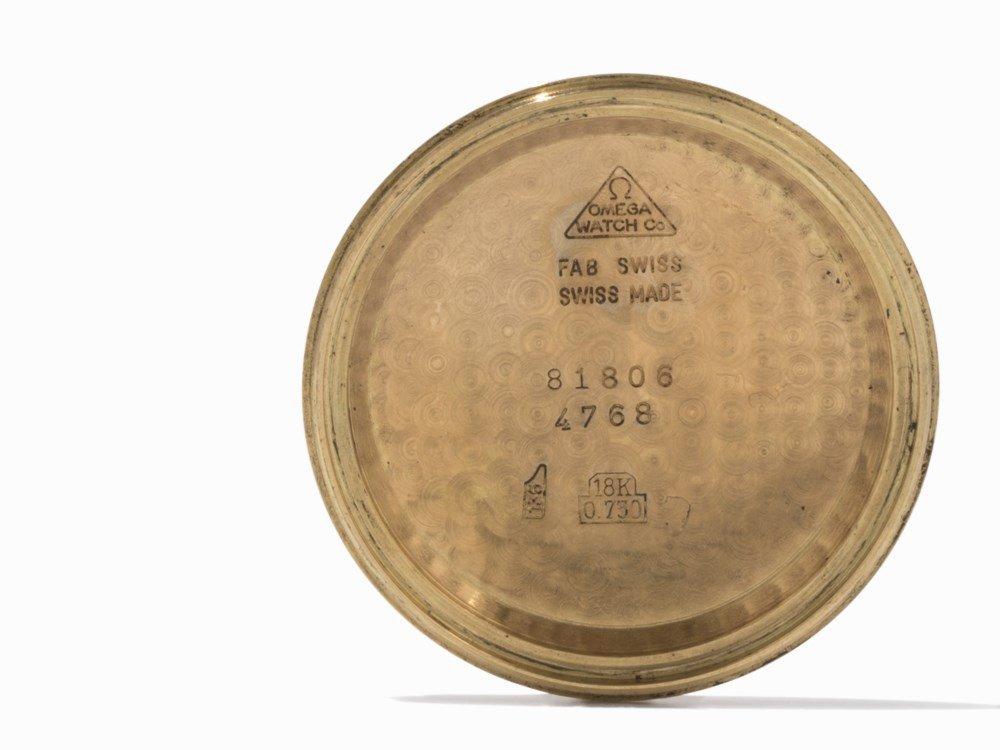 Omega Gold Chronograph, Switzerland, c. 1955 - 4