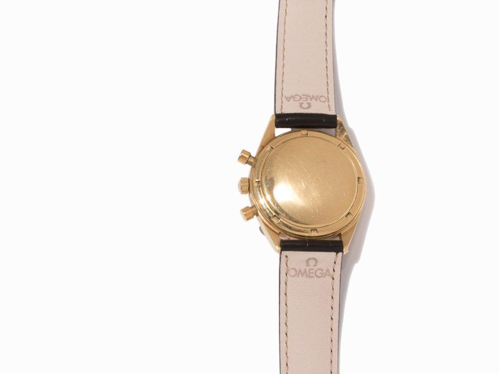 Omega Gold Chronograph, Switzerland, c. 1955 - 5