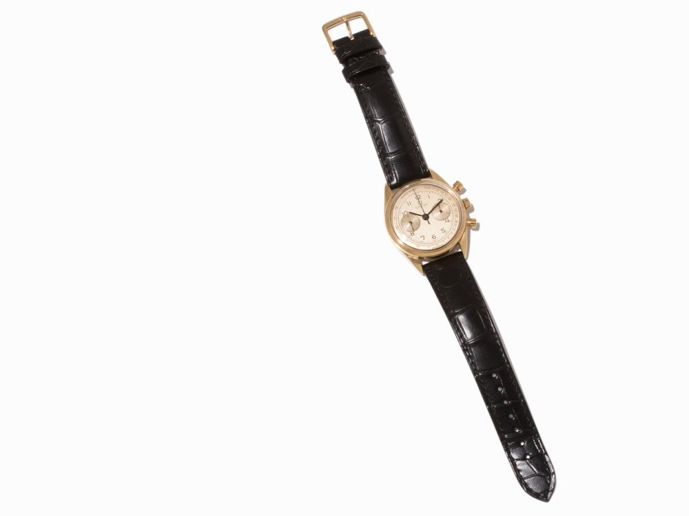 Omega Gold Chronograph, Switzerland, c. 1955 - 7