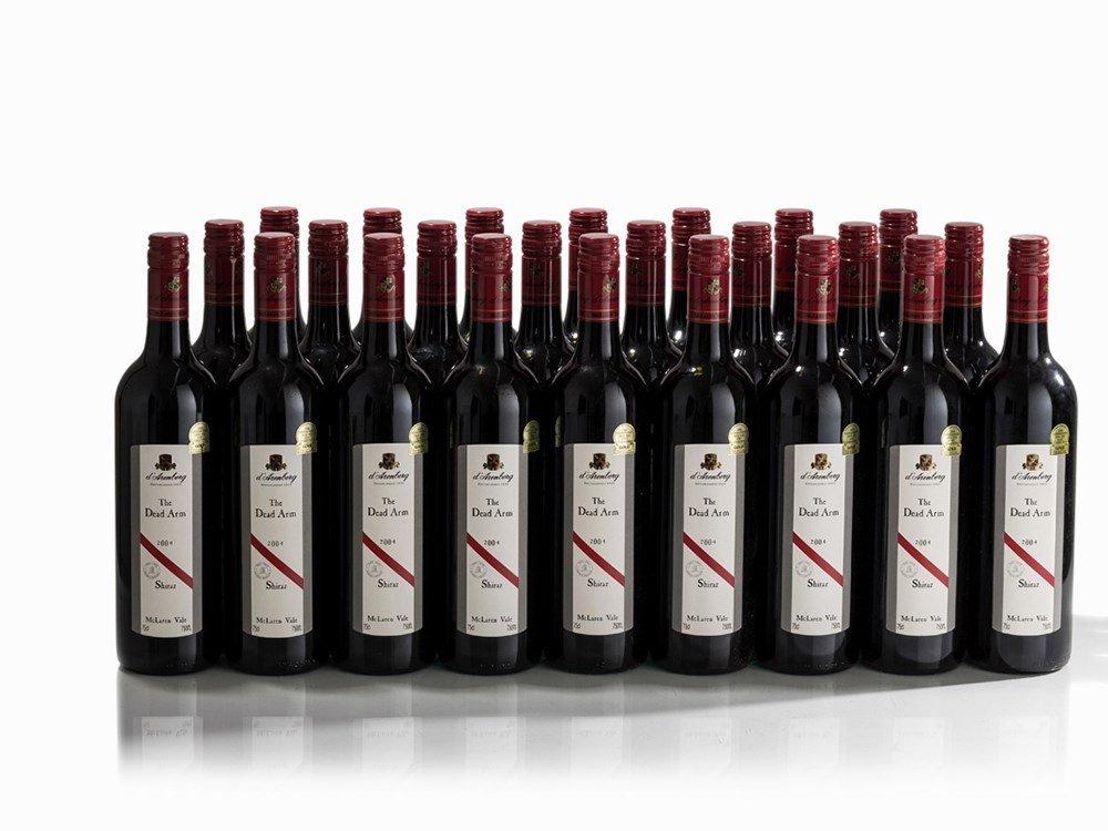 24 Bottles 2004 d'Arenberg The Dead Arm Shiraz, McLaren