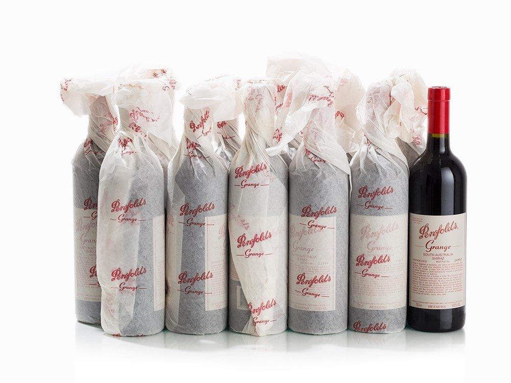 12 Bottles 2002 Penfolds Grange, South Australia