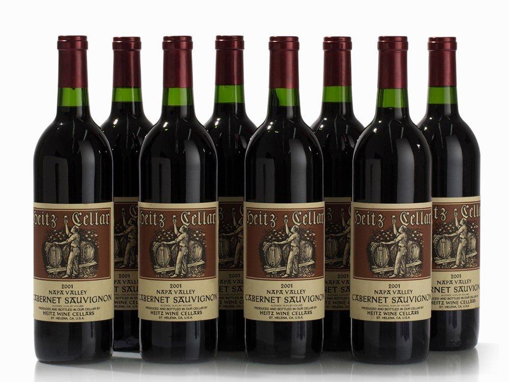 8 Bottles 2001 Heitz Cabernet Sauvignon, Napa Valley