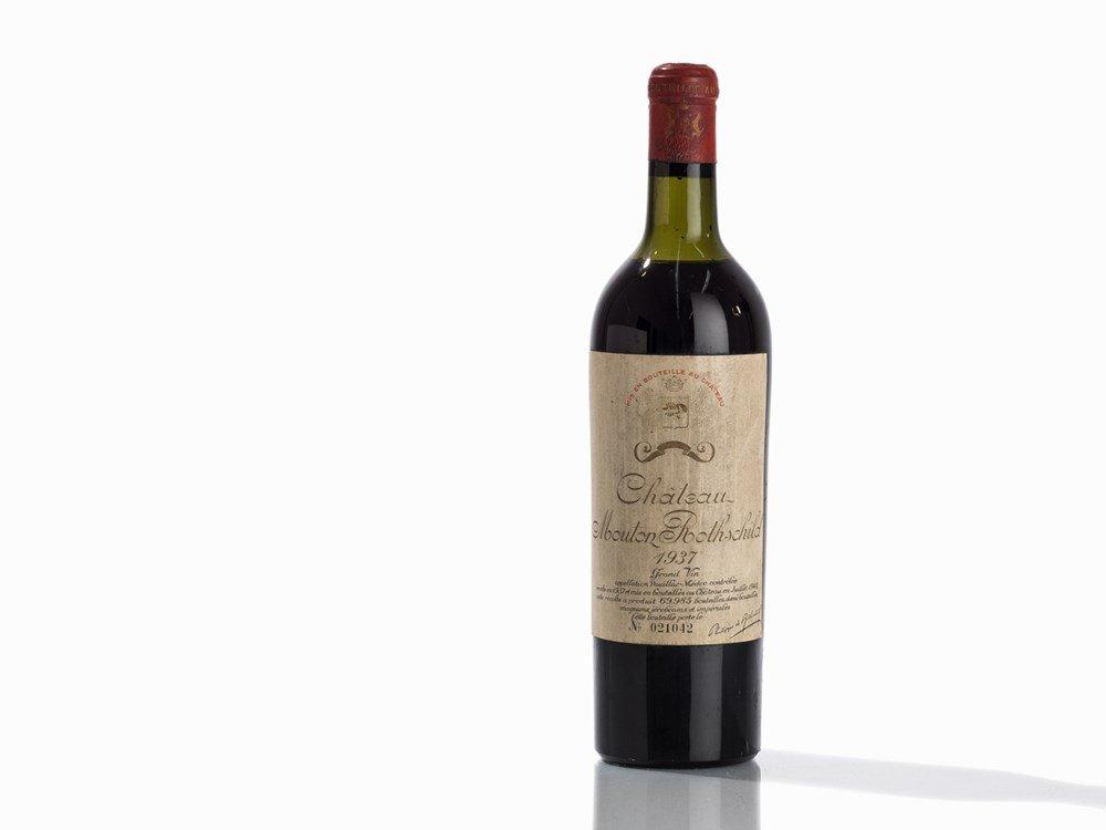 1 Bottle 1937 Château Mouton Rothschild, Pauillac