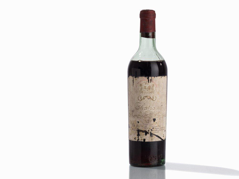 1 Bottle 1938 Château Mouton Rothschild, Pauillac