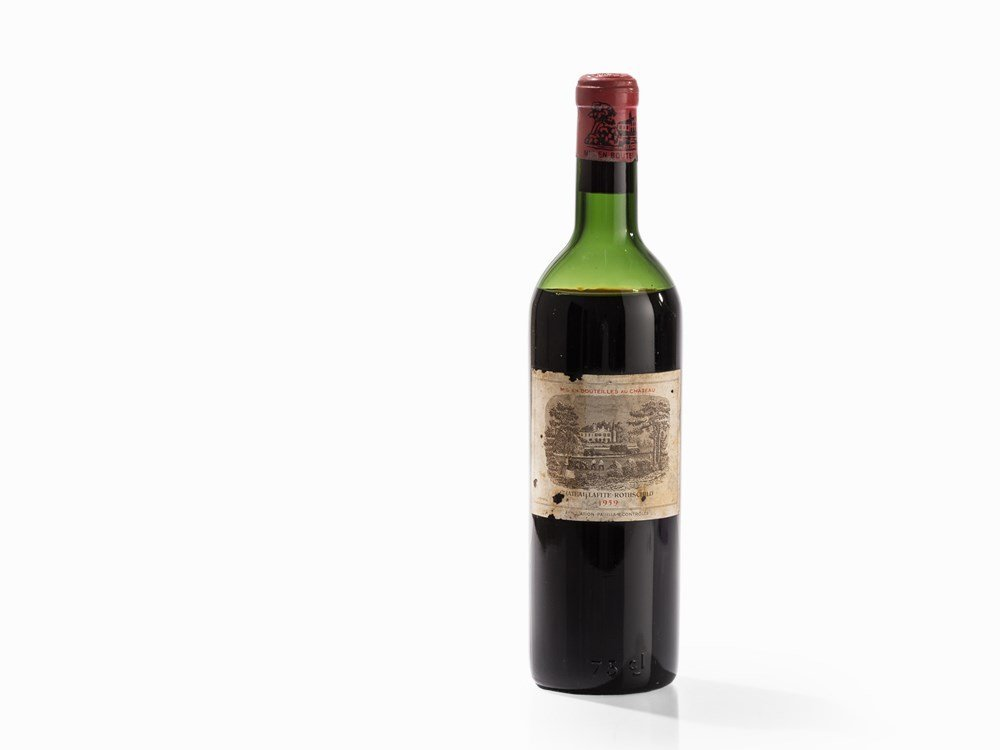 1 Bottle 1940 Château Mouton Rothschild, Pauillac