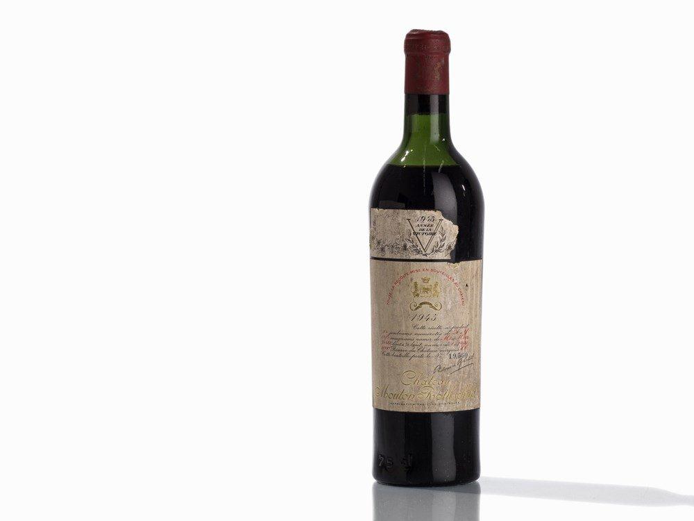 1 Bottle 1945 Château Mouton Rothschild, Pauillac