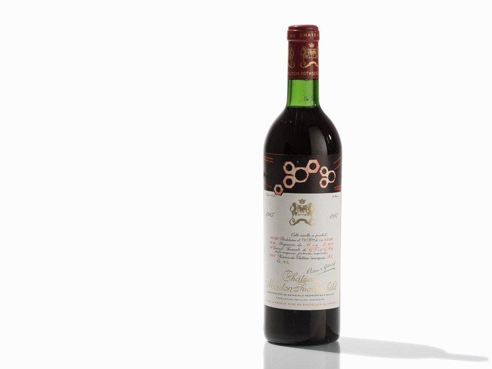 1 Bottle 1967 Château Mouton Rothschild, Pauillac