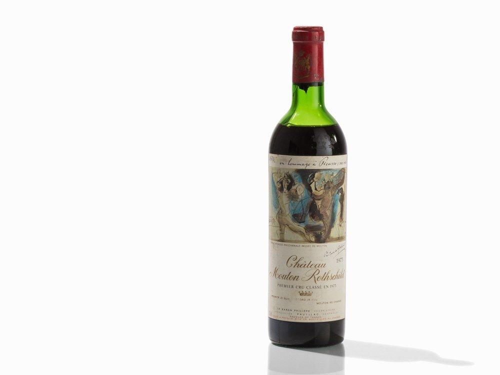 1 Bottle 1973 Château Mouton Rothschild, Pauillac