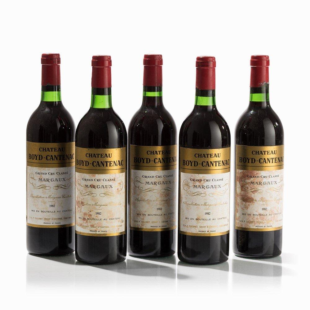 5 Bottles 1982 Château Boyd-Cantenac, Margaux - 6