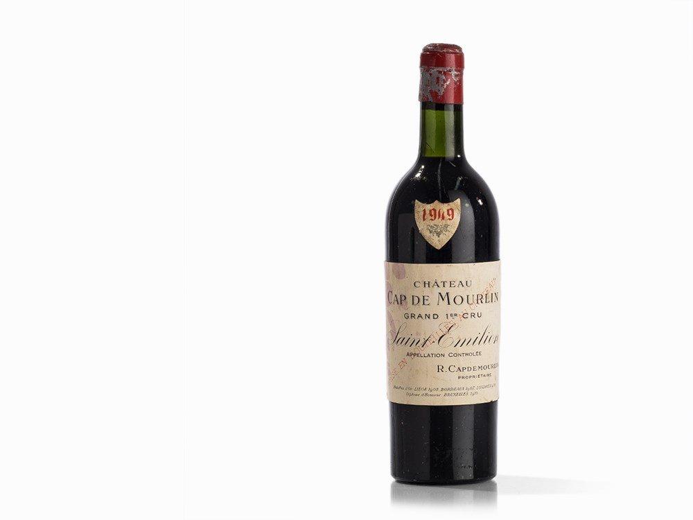 1 Bottle 1949 Château Cap de Mourlin, Saint-Émilion
