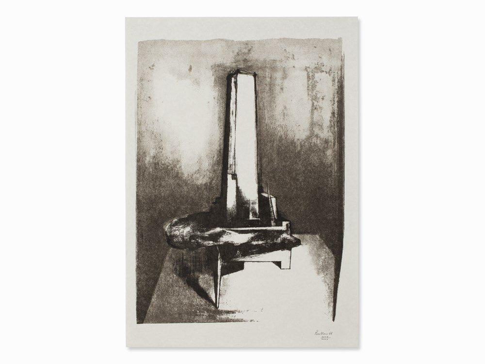Reg Butler, Tower, Lithograph, 1968