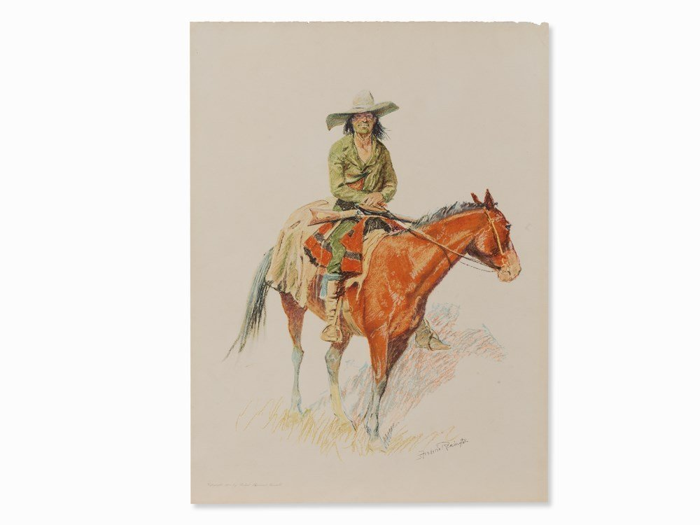 After Frederic Sackrider Remington, Old Ramon,