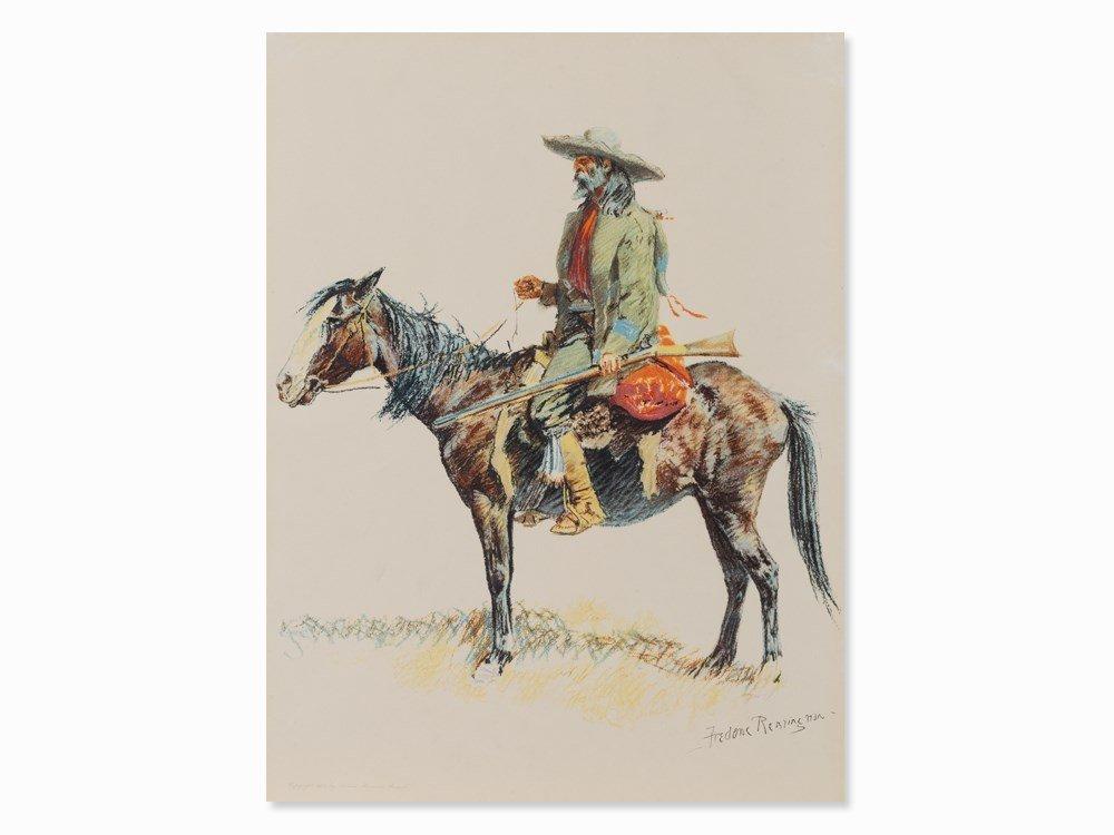 After Frederic Sackrider Remington, Trapper,