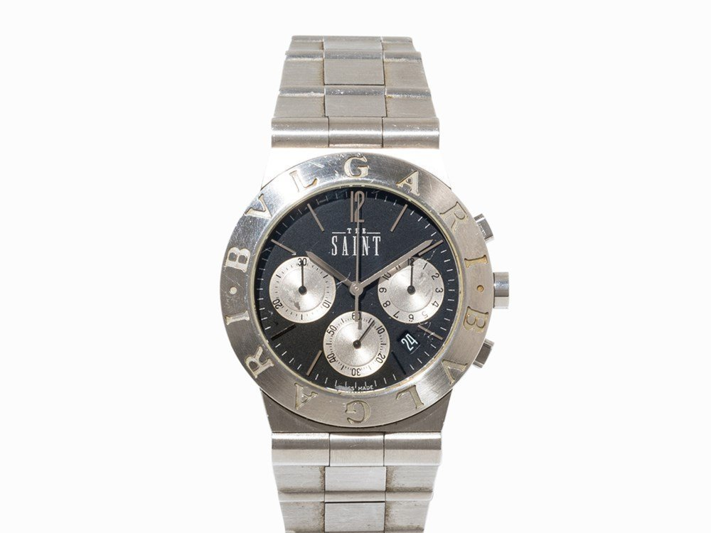 Bulgari The Saint Chronograph, Switzerland, c. 1997