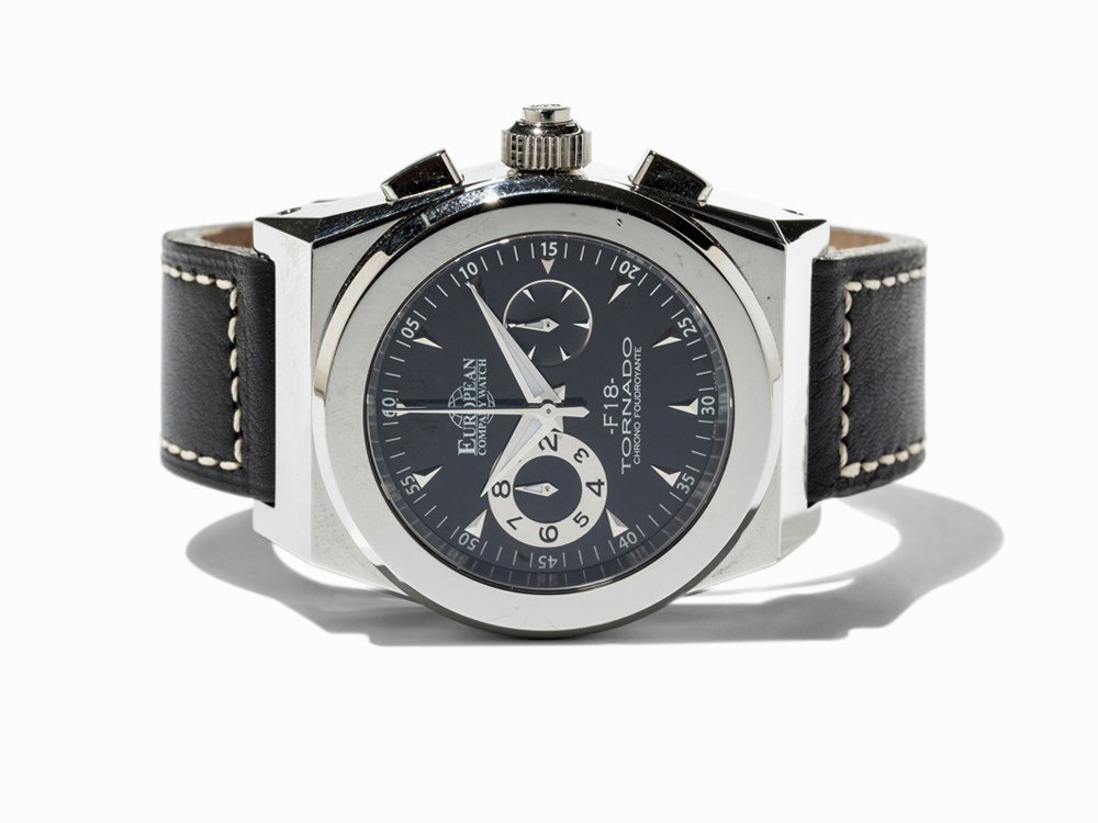European Company Watch F 18 Tornado Chronograph, c.