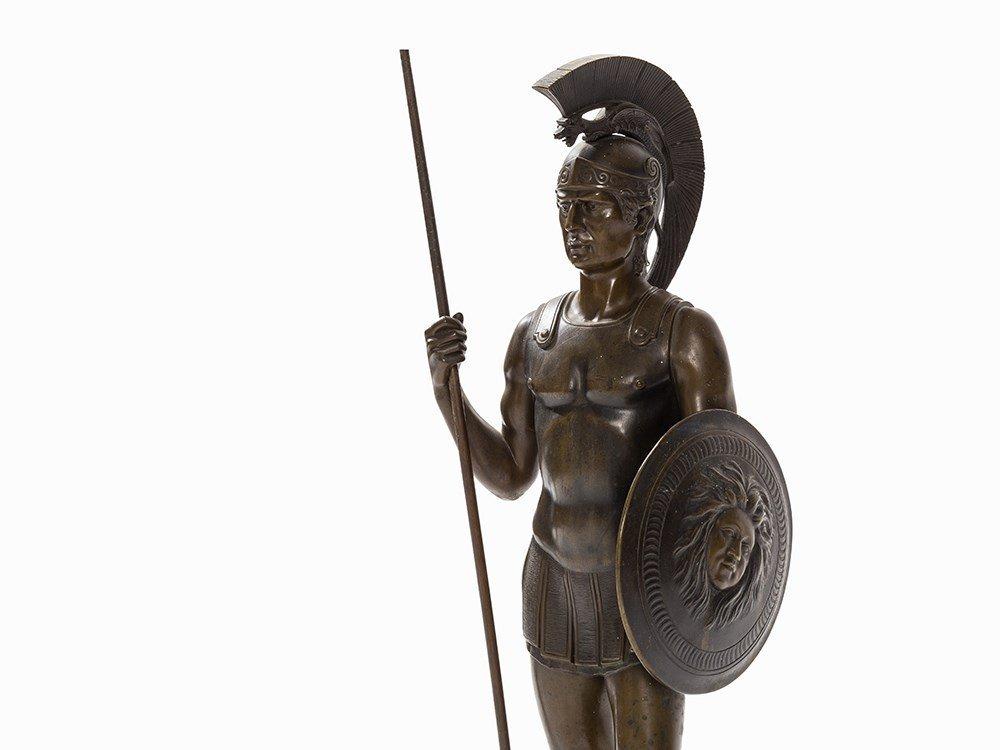 Rieder, a Large Bronze Sculpture, Roman Soldier, - 2