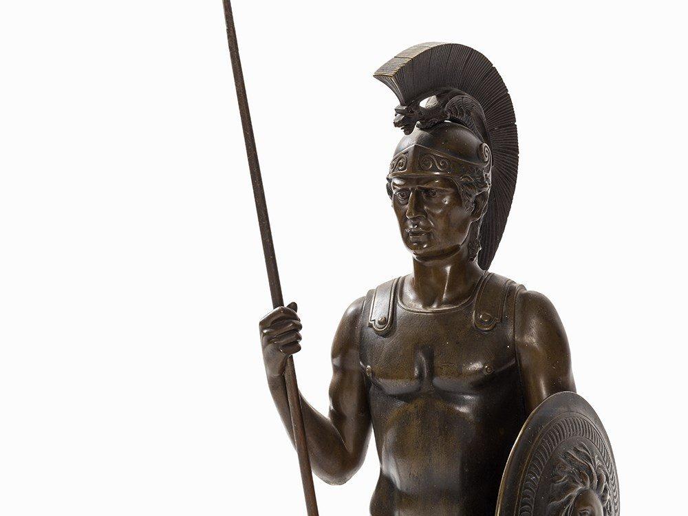 Rieder, a Large Bronze Sculpture, Roman Soldier, - 3
