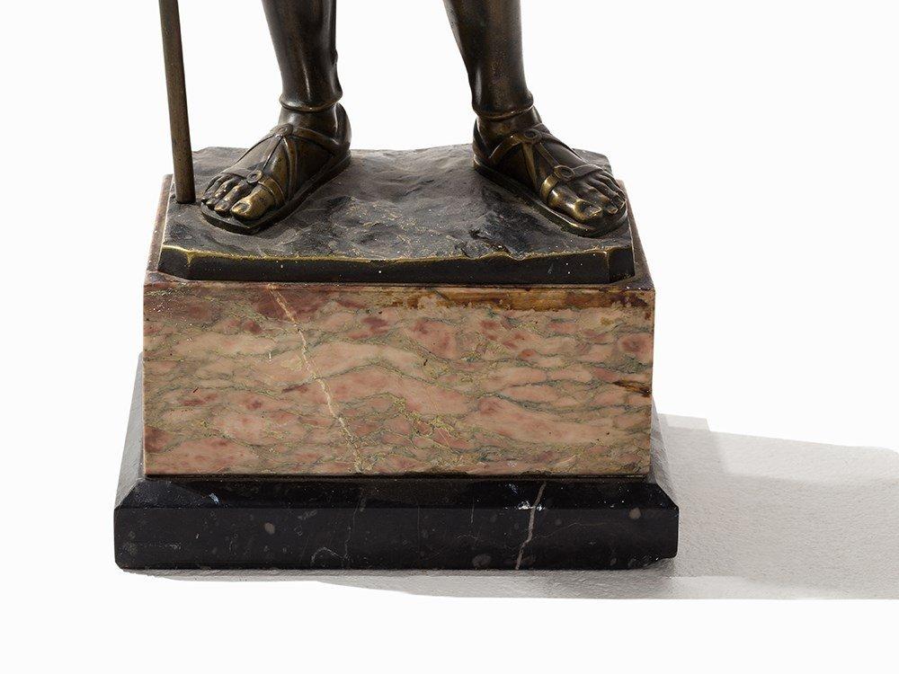 Rieder, a Large Bronze Sculpture, Roman Soldier, - 4