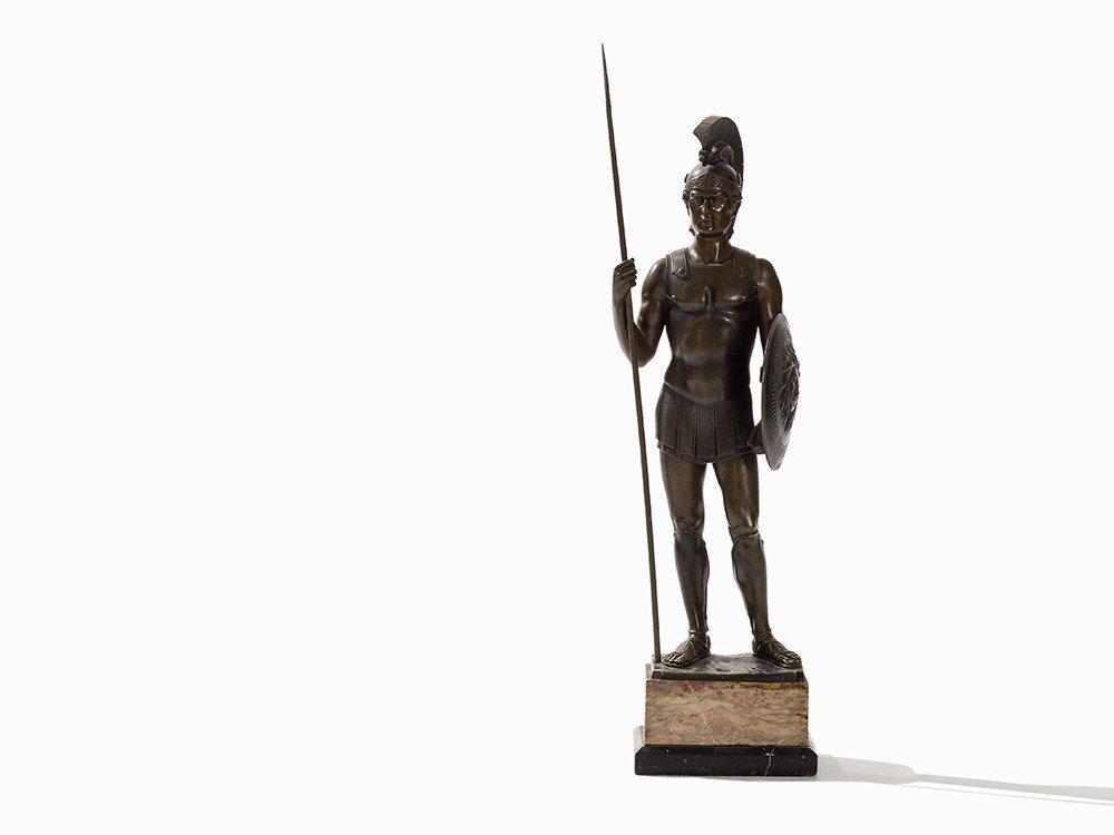 Rieder, a Large Bronze Sculpture, Roman Soldier, - 5