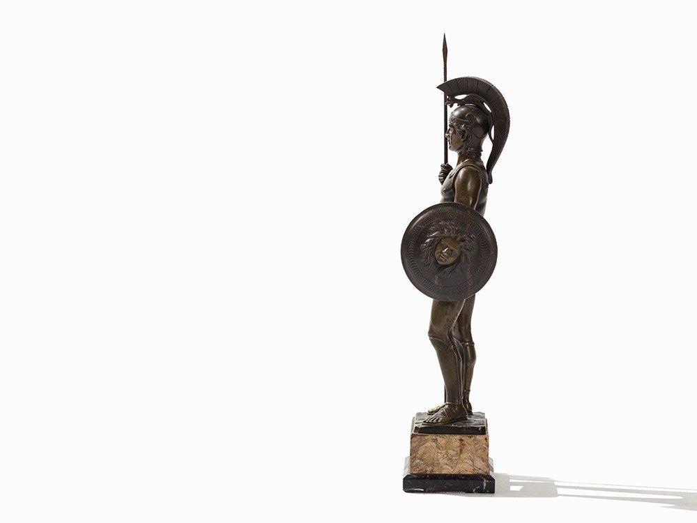 Rieder, a Large Bronze Sculpture, Roman Soldier, - 6