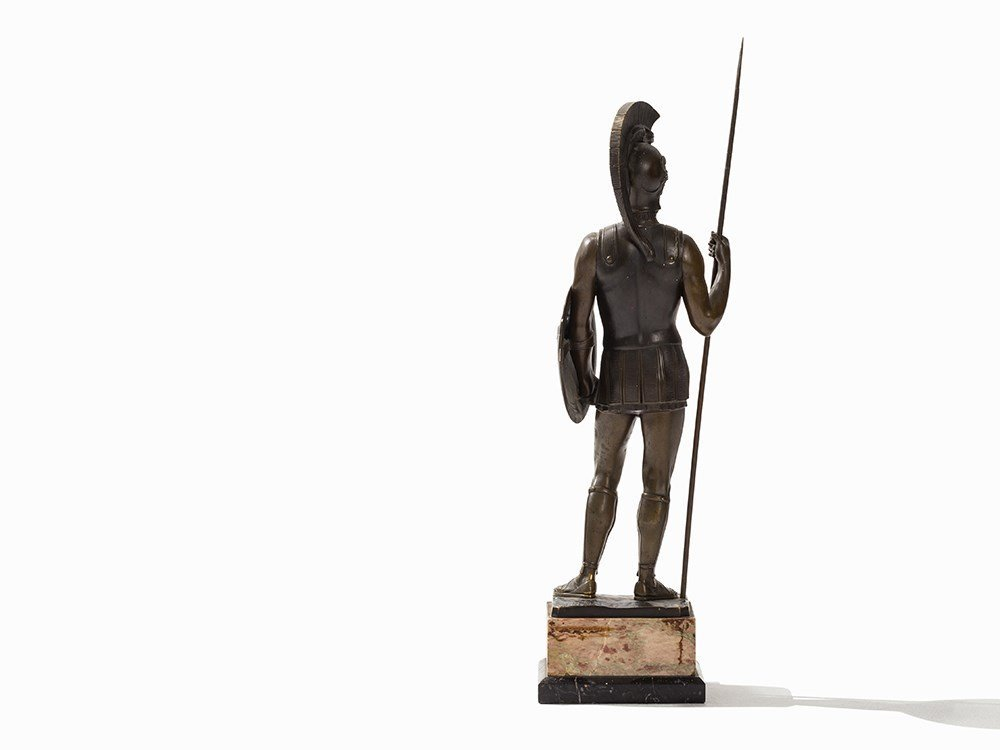 Rieder, a Large Bronze Sculpture, Roman Soldier, - 7