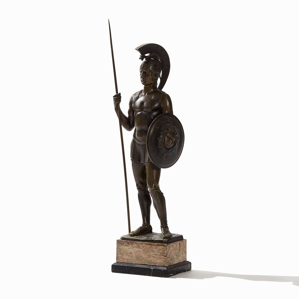 Rieder, a Large Bronze Sculpture, Roman Soldier, - 8