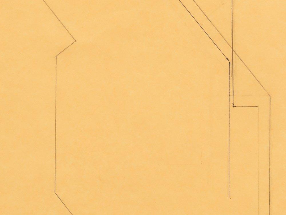 Helmut Federle (b. 1944), Schaltskala, Drawing, 1980