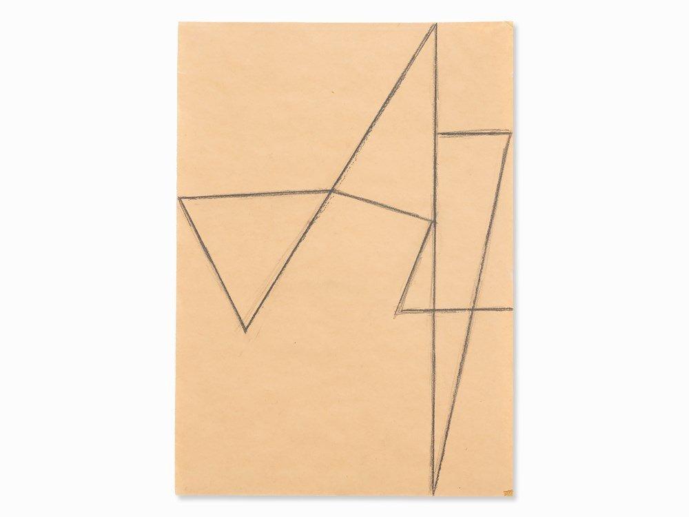 Helmut Federle (b. 1944), Endlosschlaufe, Drawing, c.