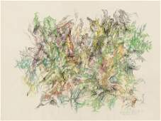 Bernard Schultze (1915-2005), Pflanzliches, Mixed