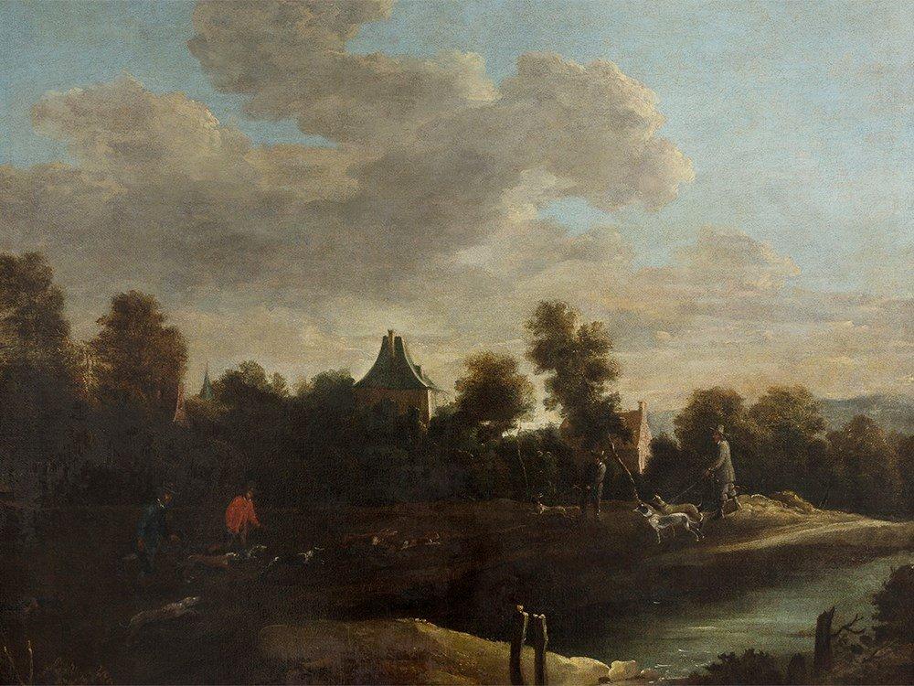 David Teniers II (1610-1690), Follower, Hundsmen &
