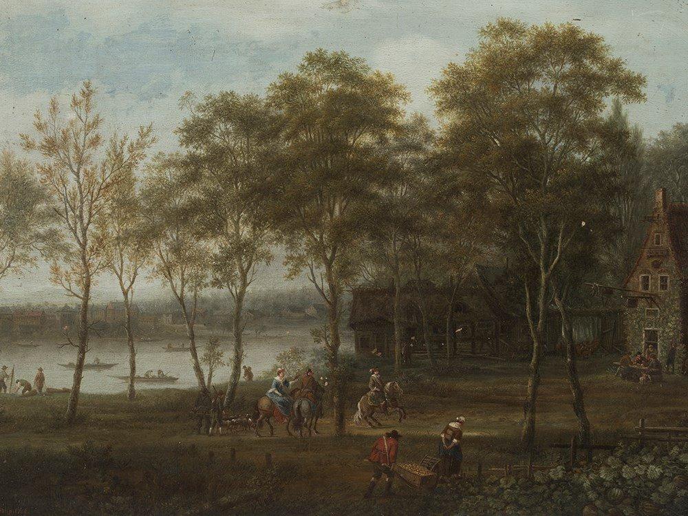 Johann Christian Vollerdt (b. 1708-1769), River