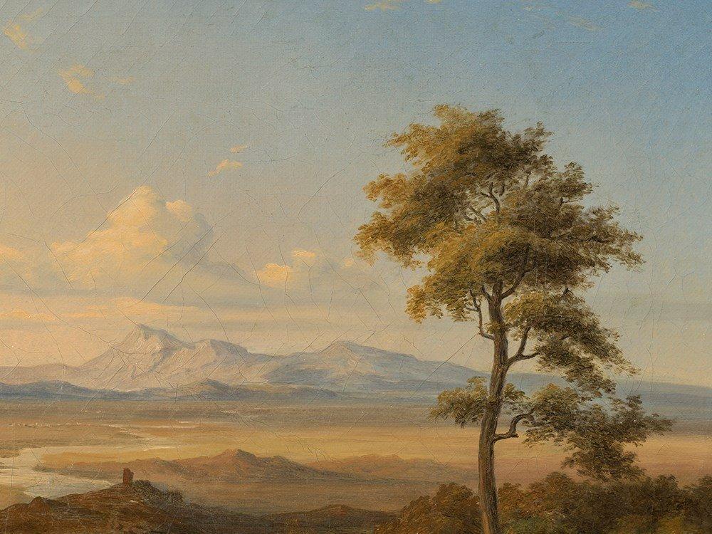 Circle of Carl Rottmann (1797-1850), Vast Landscape,