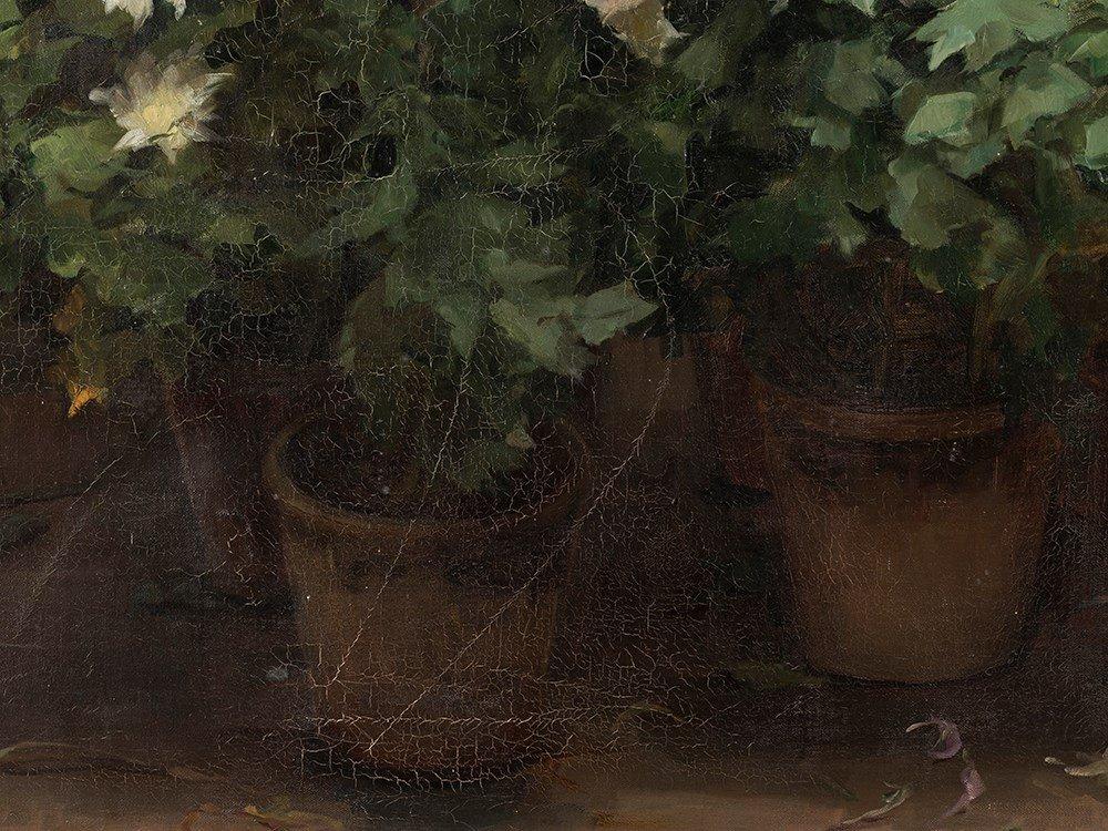 Angelina Drumaux (1881-1959), Chrysanthmes en fleurs, - 9