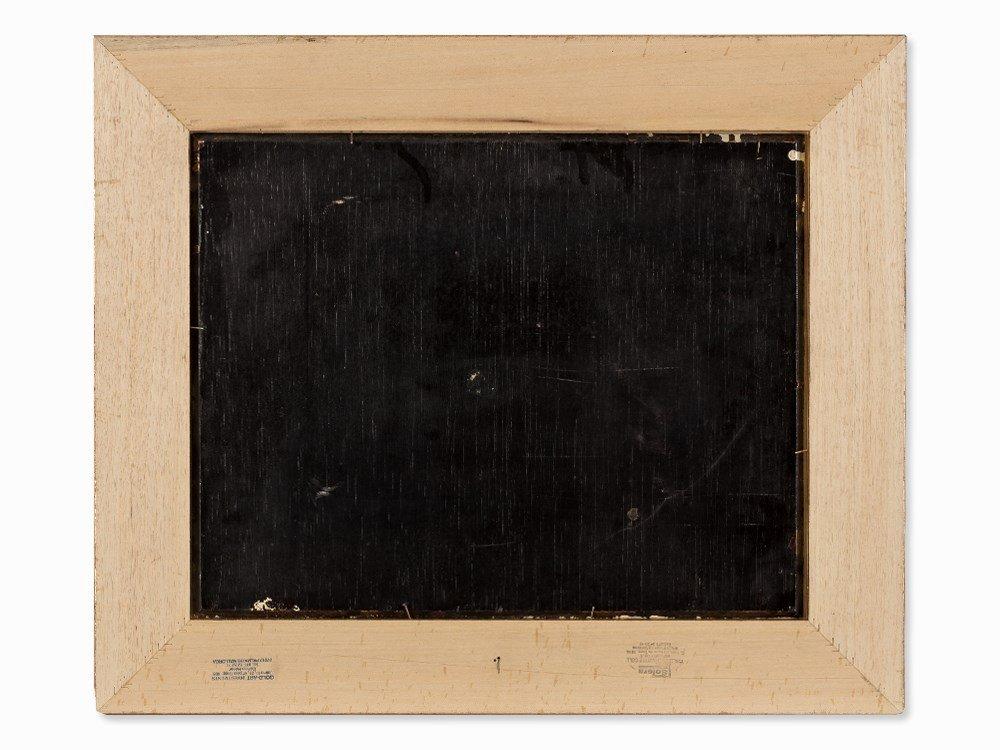Jan Mortel (1906-?), Four Dogs, Oil on Wood, Europe, - 7