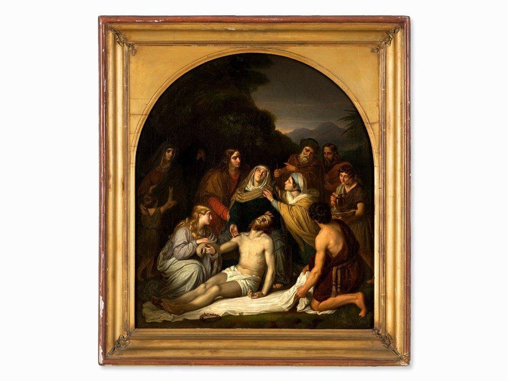 Copy after Cornelis Kruseman, Entombment, Painting, c. - 2
