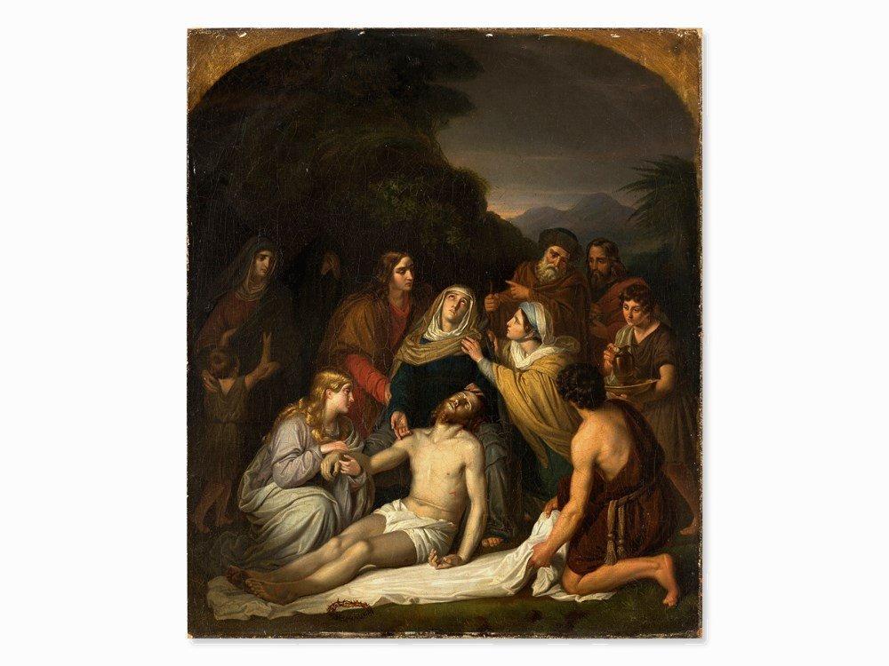 Copy after Cornelis Kruseman, Entombment, Painting, c. - 3