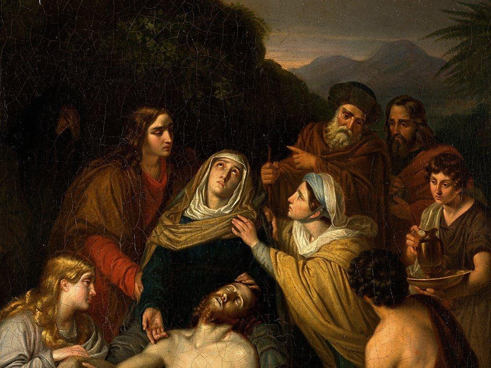 Copy after Cornelis Kruseman, Entombment, Painting, c. - 4