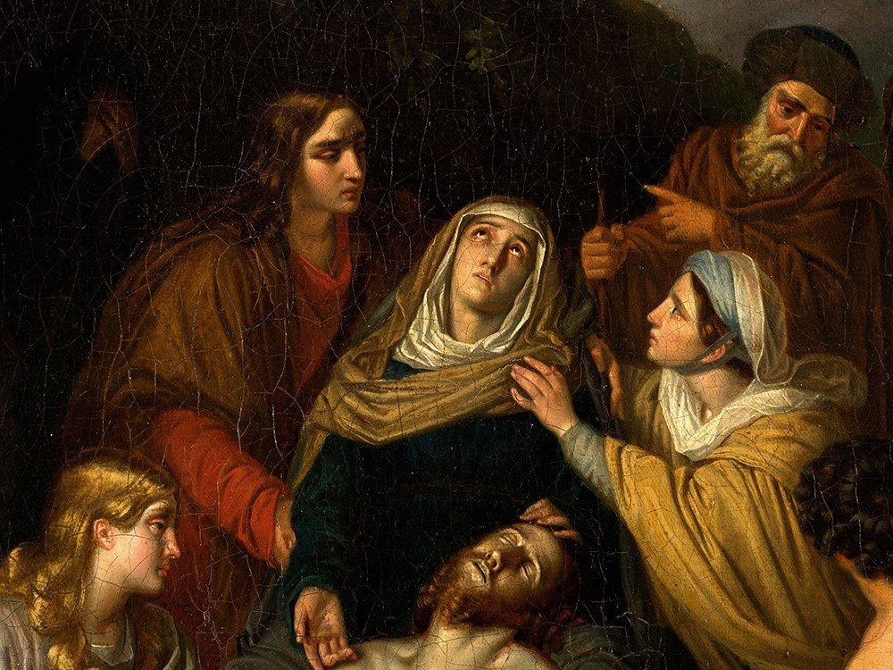 Copy after Cornelis Kruseman, Entombment, Painting, c. - 5