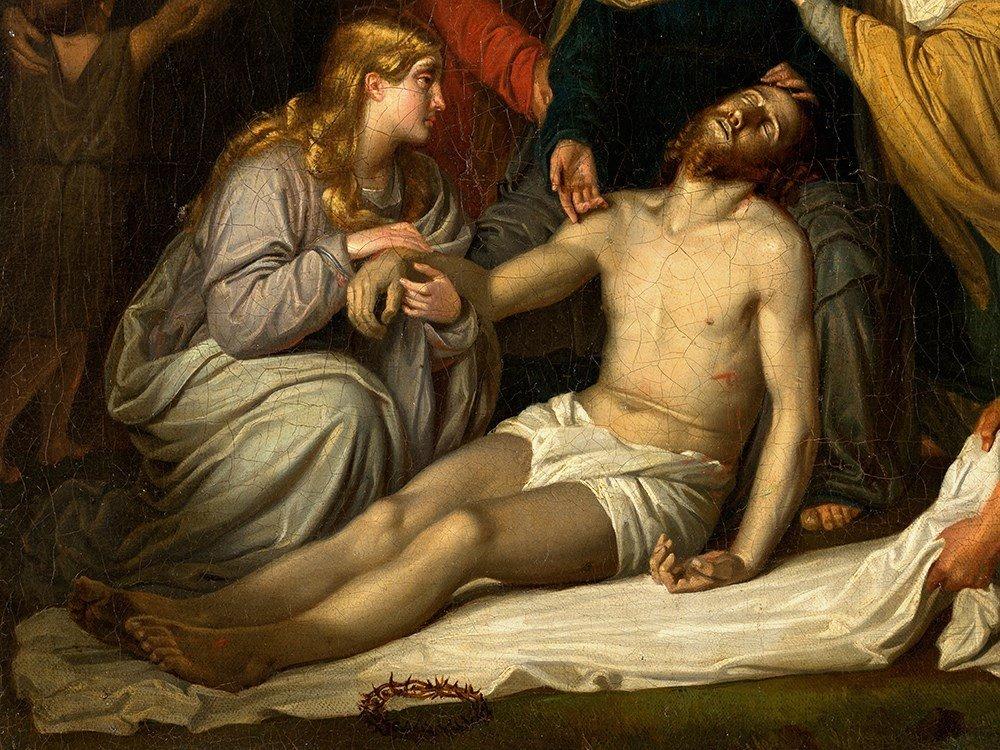 Copy after Cornelis Kruseman, Entombment, Painting, c. - 6