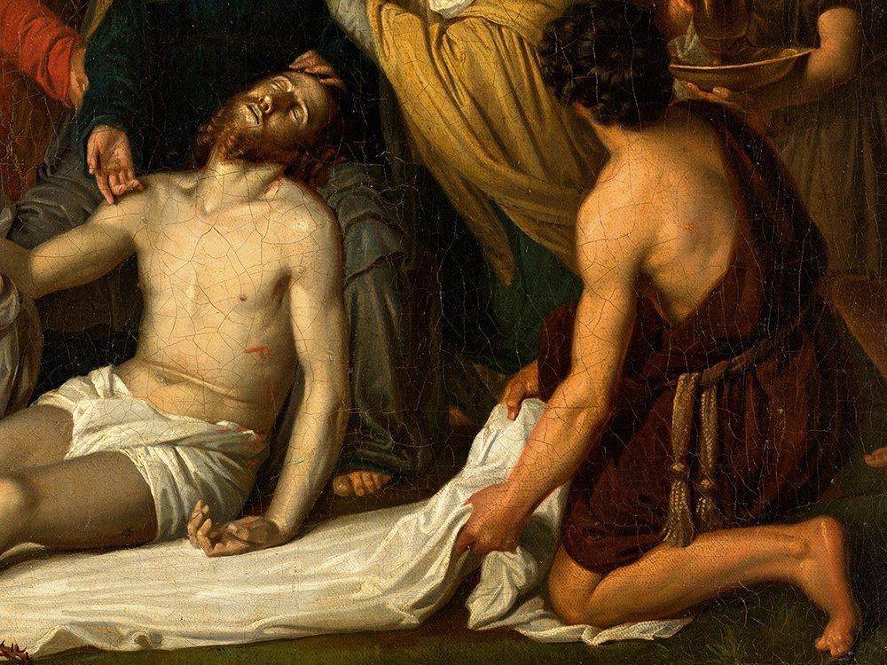 Copy after Cornelis Kruseman, Entombment, Painting, c. - 7