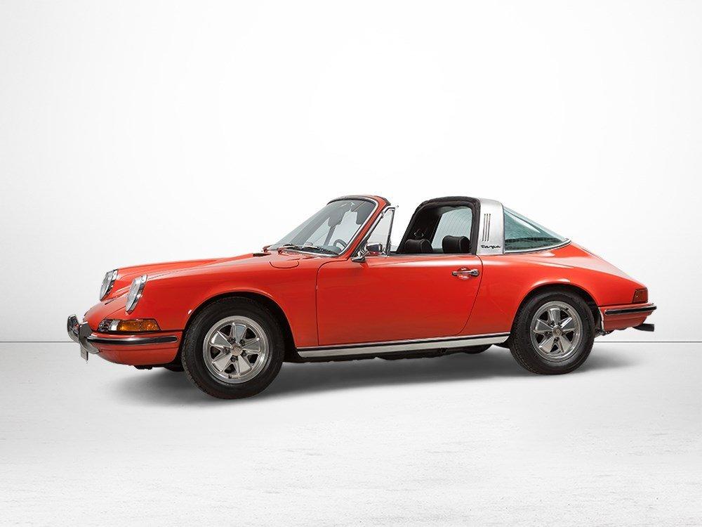 Porsche 911 T 2,4 Targa, Model Year 1973